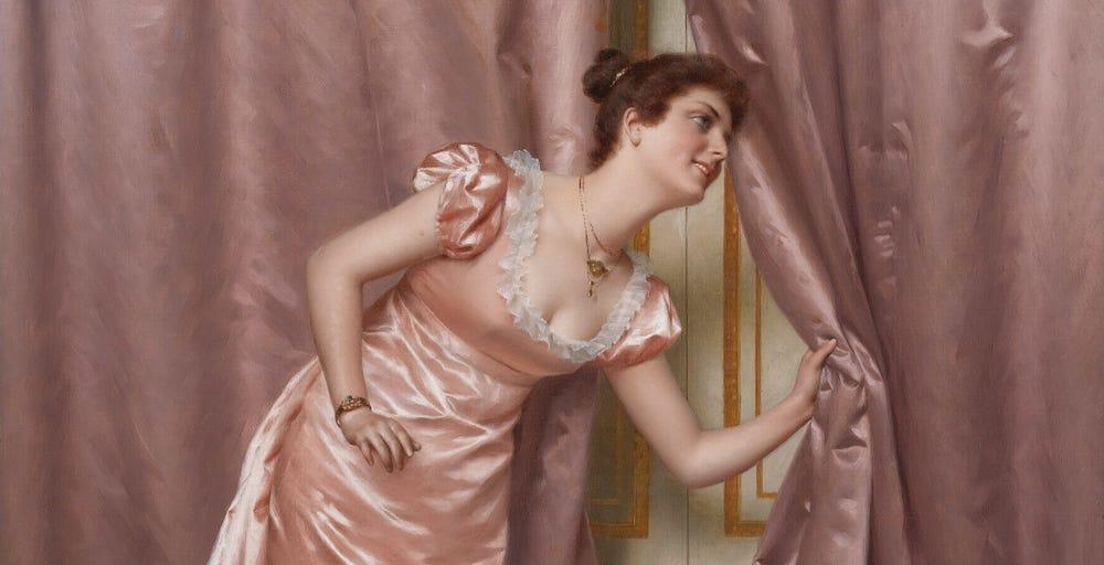 """Eavesdropping,"" Vittorio Reggianini"