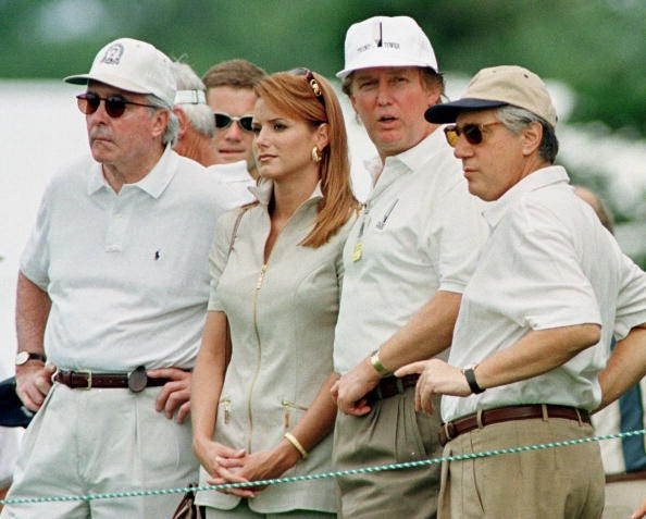 Donald Trump Winged Foot Golf Club Mamaroneck