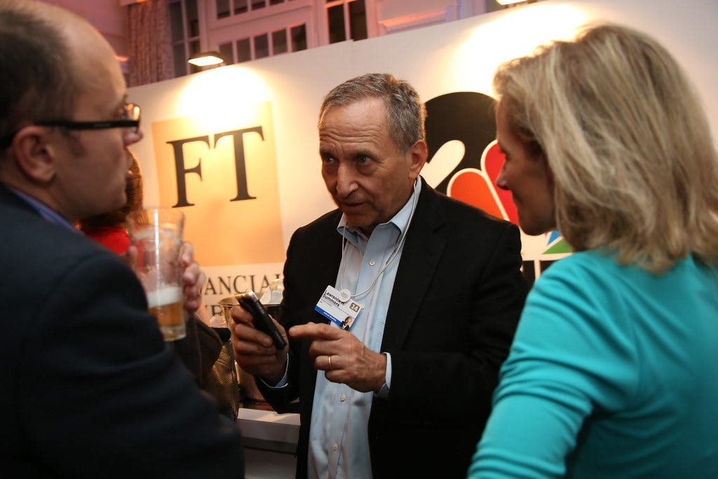 Chris Giles, Economics Editor, FT, Larry Summers, Former US Treasury Secretary and Zanny Minton Beddoes, Economics Editor, Economist
