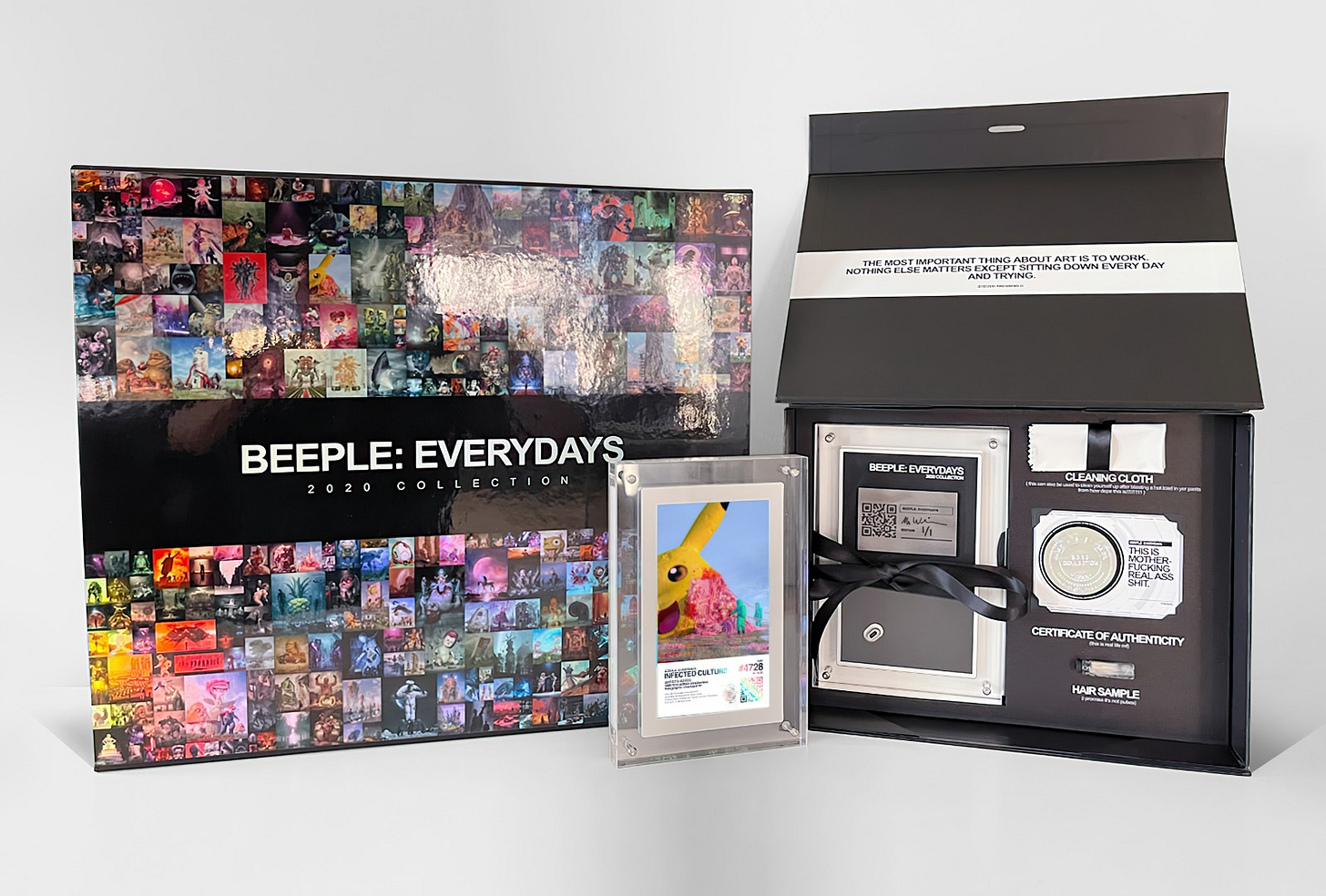 "Beeple's ""everydays."" Image: Beeple"
