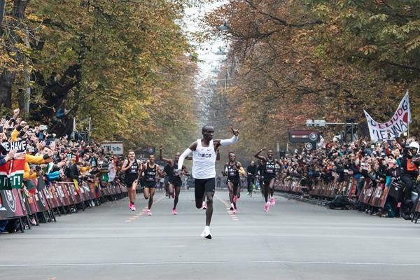 With second World Athlete of the Year honour, Kipchoge shows there's no  limit| News