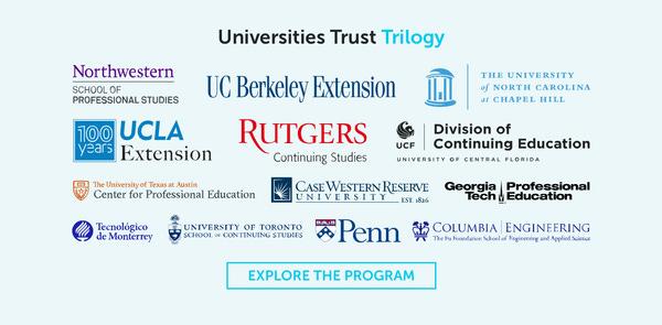 Triolgy ile birlikte çalışan üniversiteler