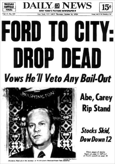 Infamous 'Drop Dead' Was Never Said by Ford - The New York Times
