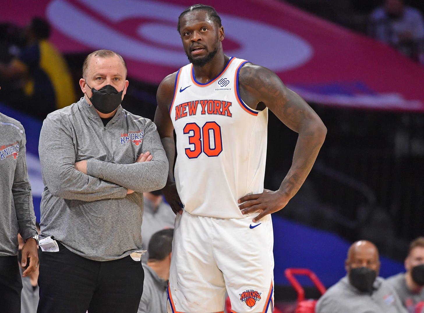 Julius Randle owes Knicks new regime: 'They saved me'