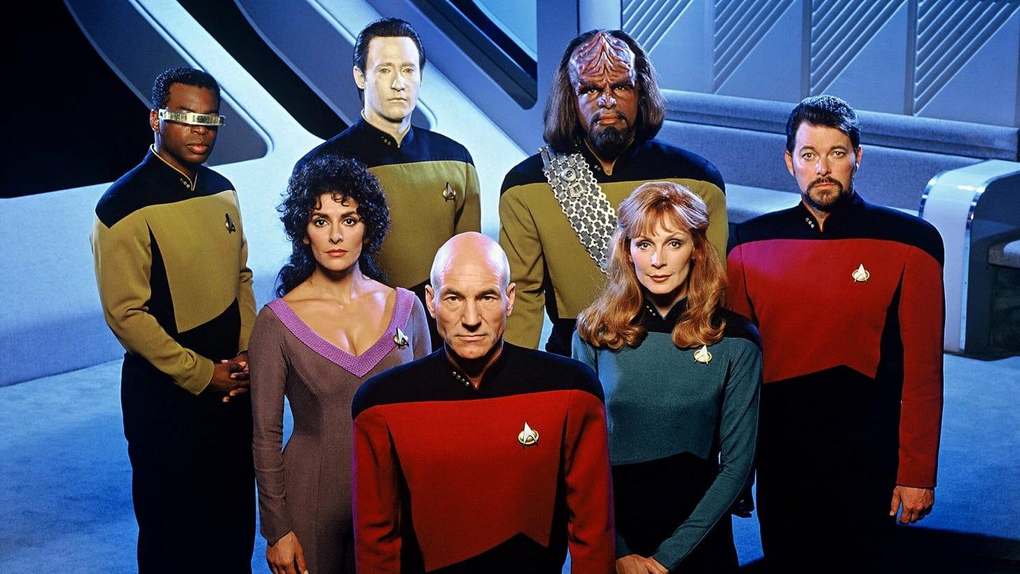 Cast of Star Trek: The Next Generation