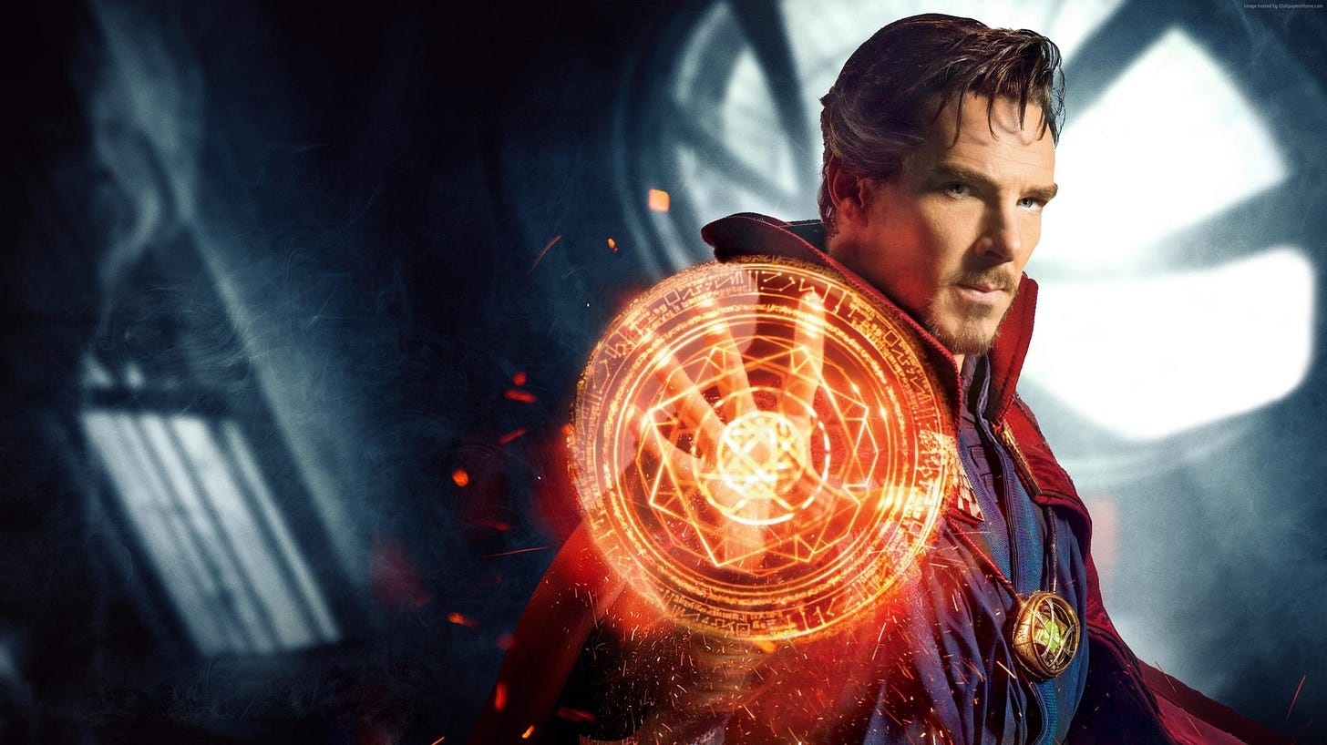 Marvel's Magical Mystery Tour: 'Doctor Strange' On Blu-ray ...