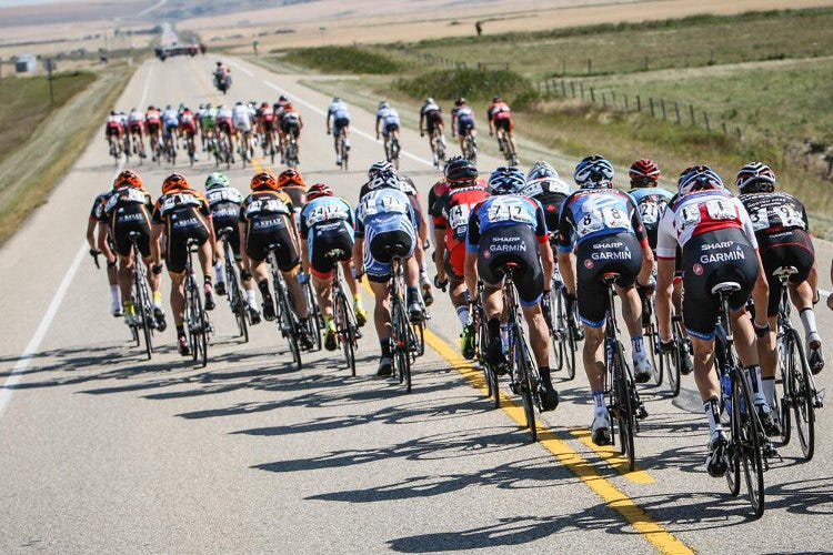 Echelons and You; Riding Smart in the Crosswind - The Tall Cyclist