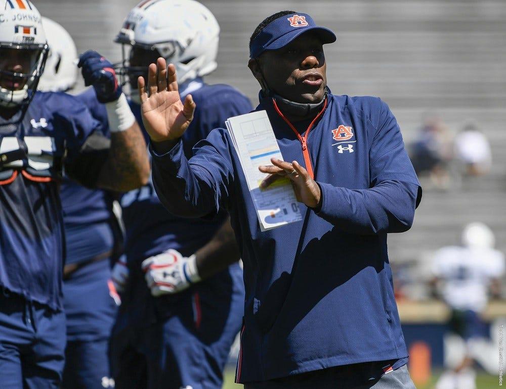 How Derek Mason found fit as Auburn defensive coordinator - Auburn  University Athletics