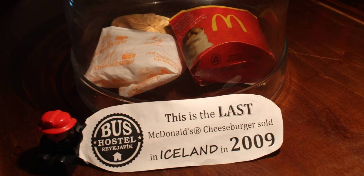 Why This Hostel Preserved the Last McDonald's Burger Sold in ...