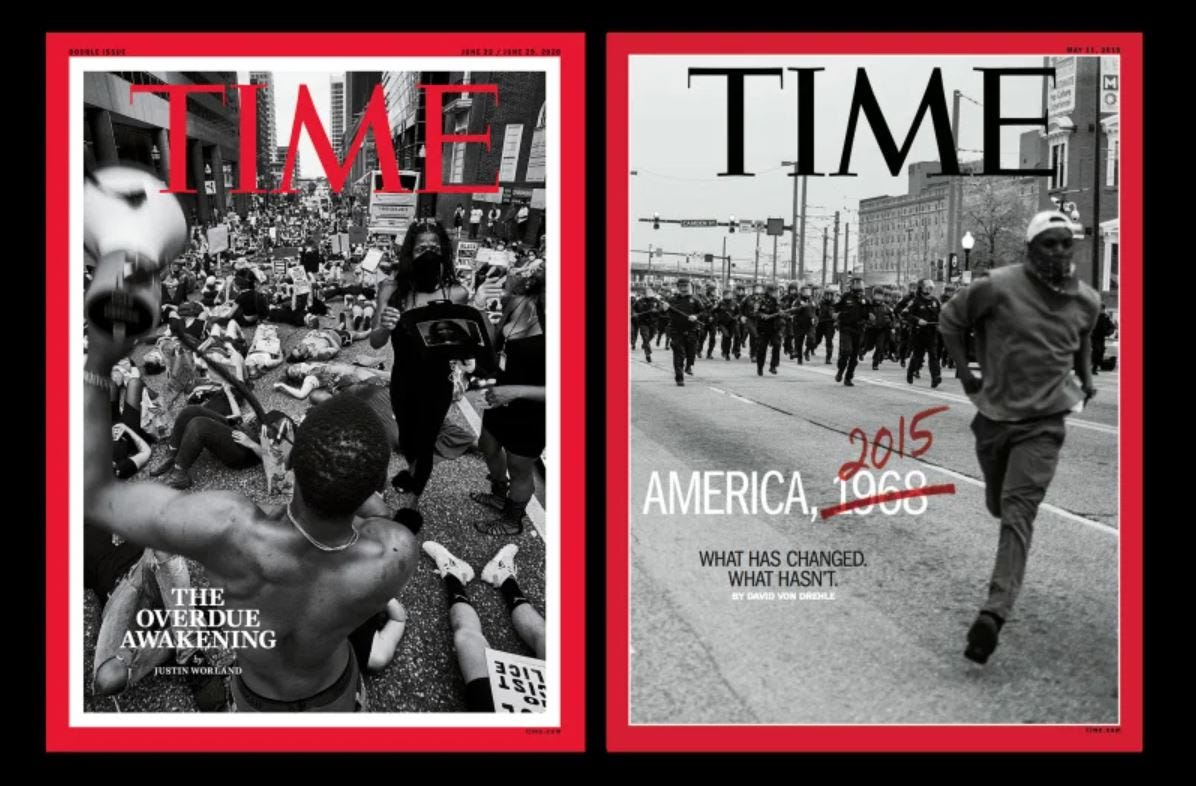 Baltimore photographer Devin Allen captures second Time magazine cover