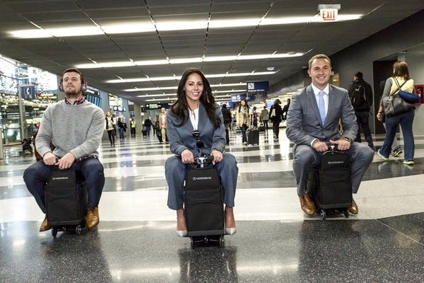 Modobag riders, coming to an airport near you