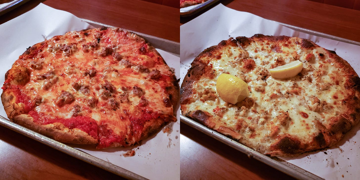 Pizza in New Haven, CT, USA