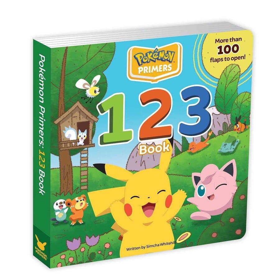 Pokémon Primers: 123 Book | Book by Simcha Whitehill ...
