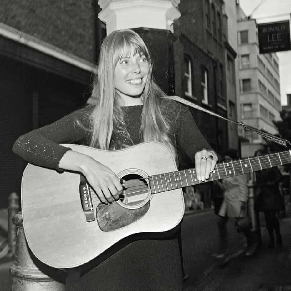 Joni Mitchell: 'I'm a fool for love. I make the same mistake over and over'    Joni Mitchell   The Guardian