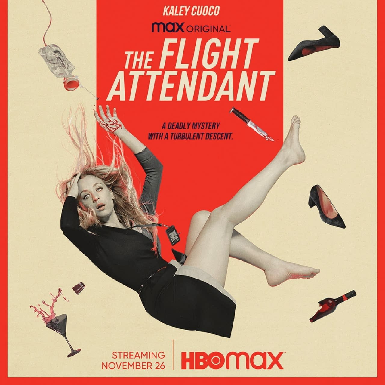 The Flight Attendant: HBO Max, Kaley Cuoco Series Booked for November