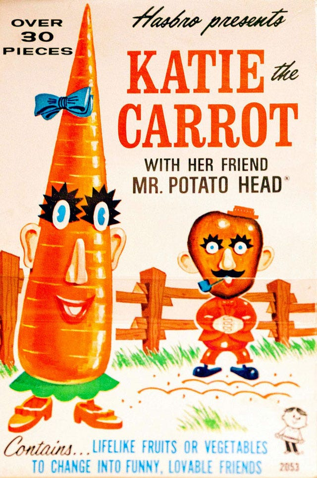 Katie the carrot