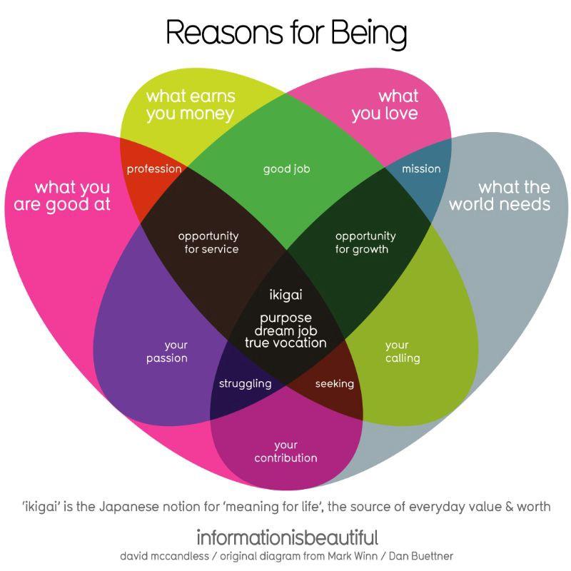 Ikigai—reason for being