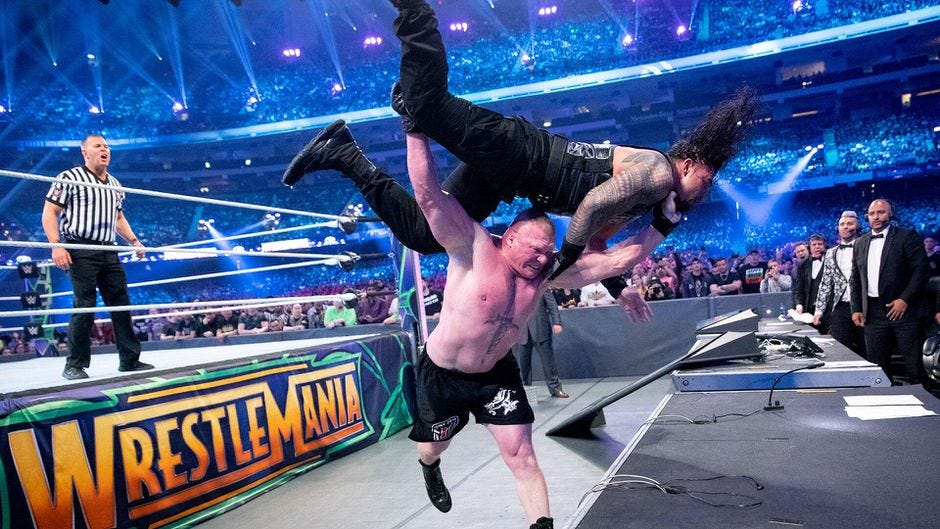 WWE WrestleMania split into 2-night empty arena event - CNET