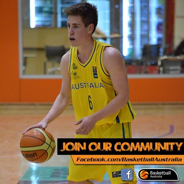 Matthew Owies | Photo credit: FIBA via Basketball Australia