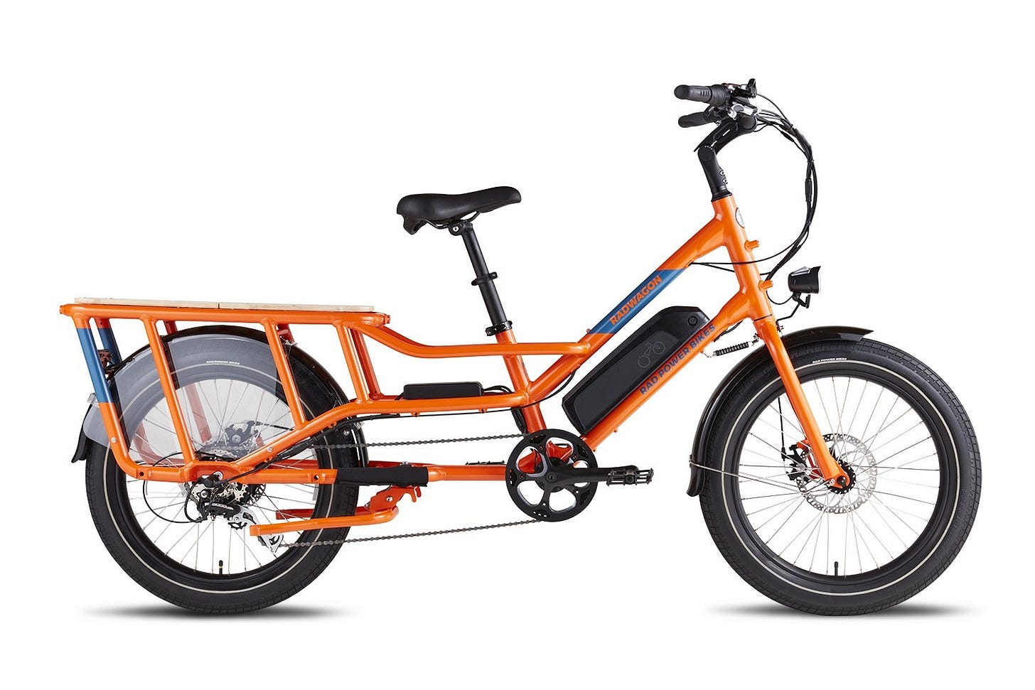 The Radwagon, by Seattle's own Rad Power Bikes, soon to come with a rebate. (Photo: Rad Power Bikes)