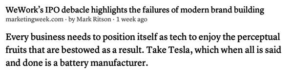 Perché siamo tutti tech, anche se facciamo batterie, o noleggiamo uffici.