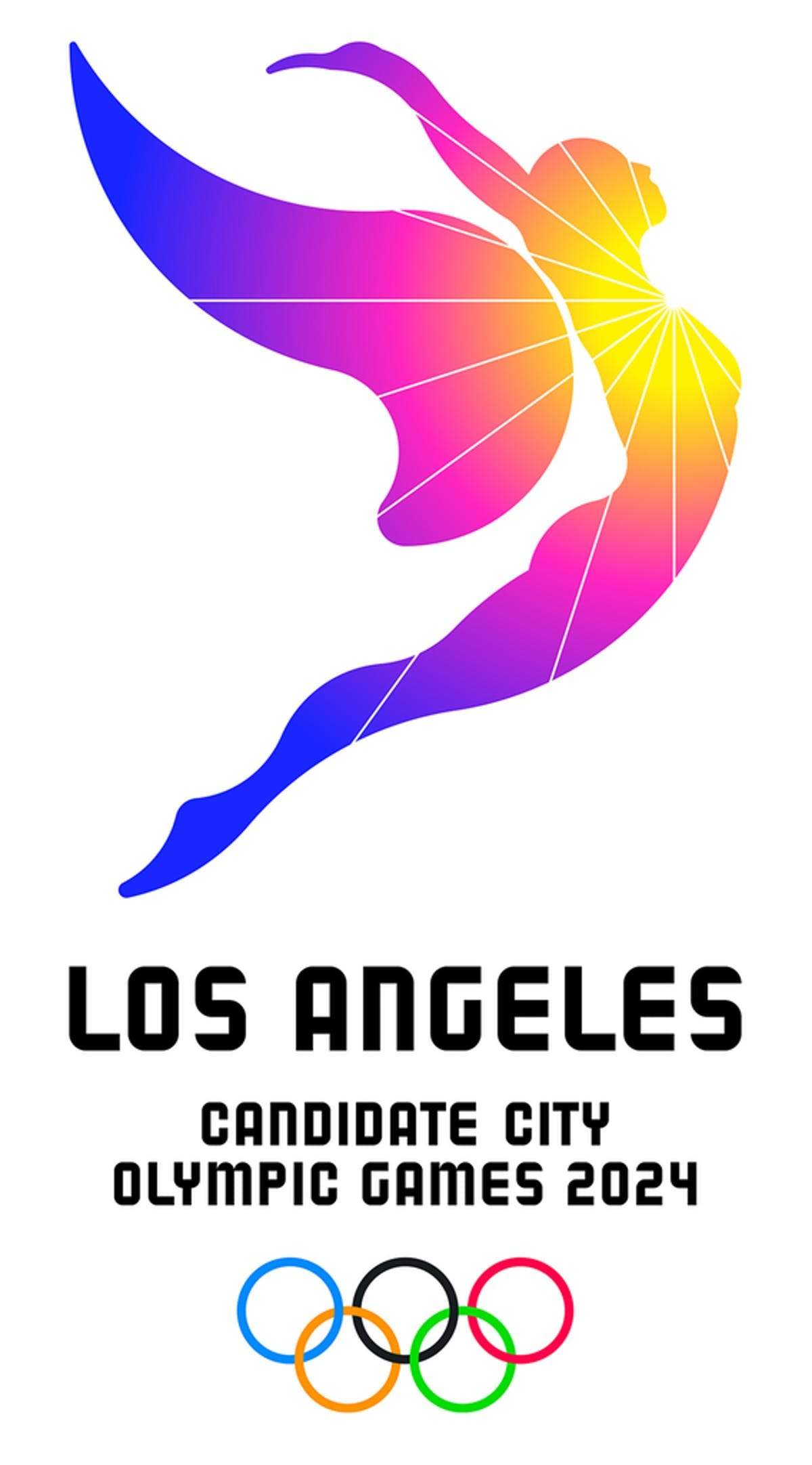 LA 2024 plays up a sunny disposition in their logo for the Olympic bid |  News | Archinect