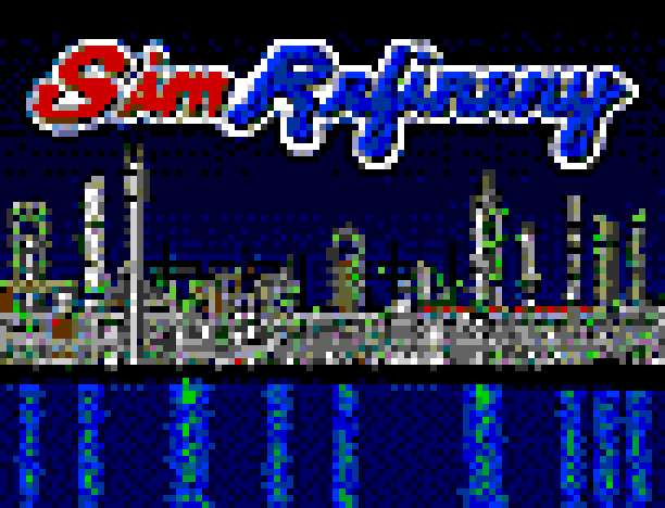 Thumbnail of the title screen from SimRefinery