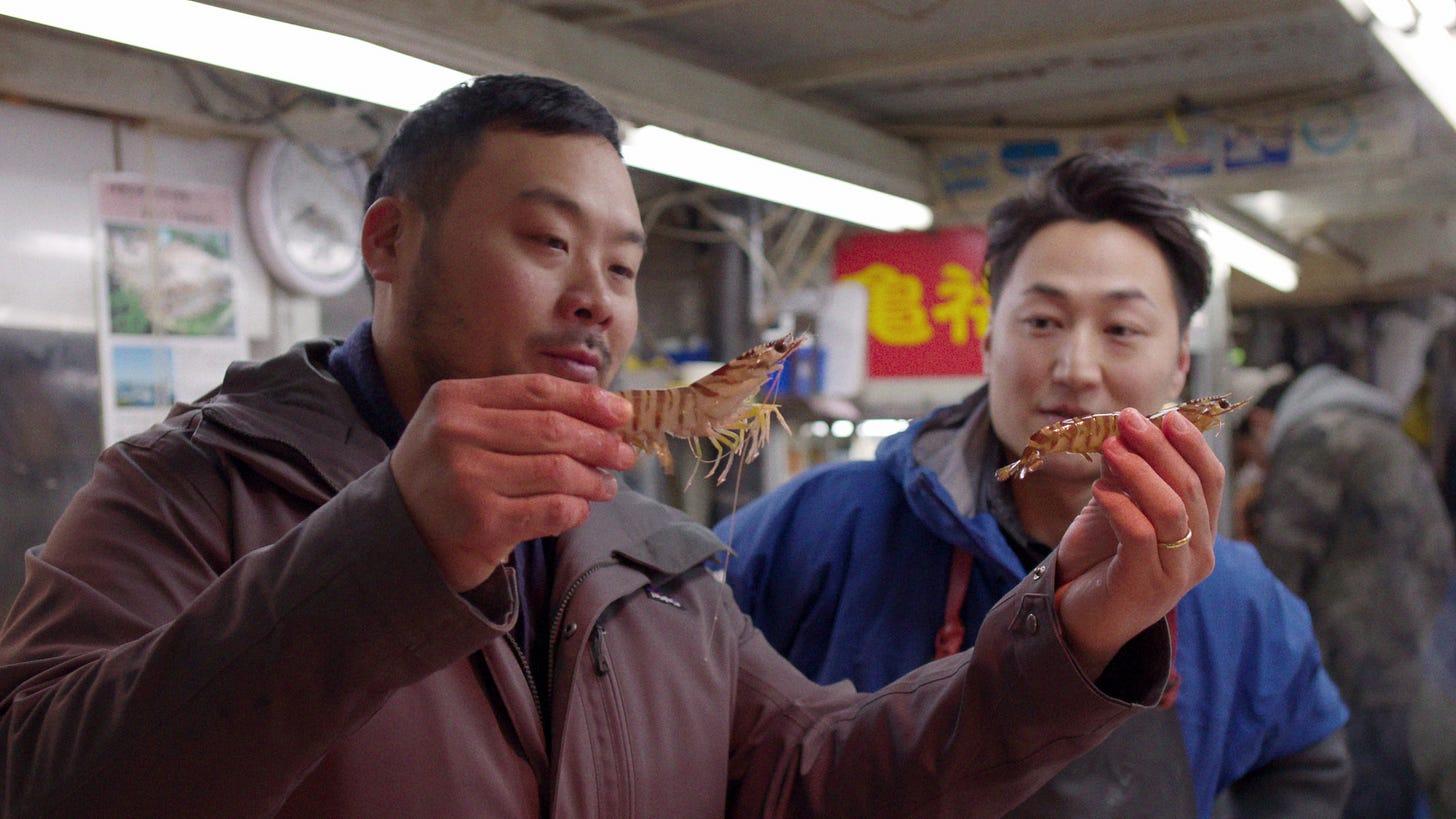 Image may contain David Chang Human Person and Food