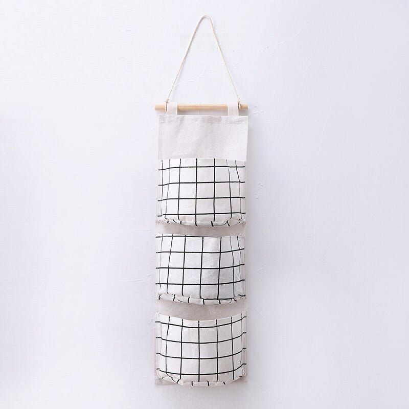 Storage Basket Hanging Bag Golding Toys Clothes Receipt Buckets and Laundry Baskets Eco-friendly Neatening