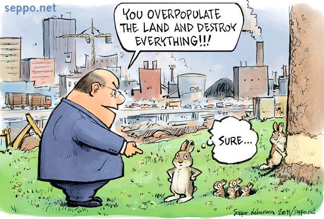 Invasive species   Environmental Cartoons