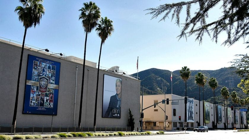Warner Bros. breaks ground on new soundstage - Los Angeles Times