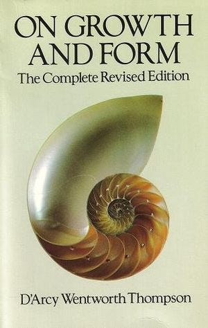 On Growth and Form, 1992 Dover reprint