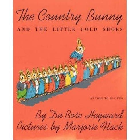 The Country Bunny And The Little Gold Shoes - (Sandpiper Books) By Dubose  Heyward (Paperback) : Target