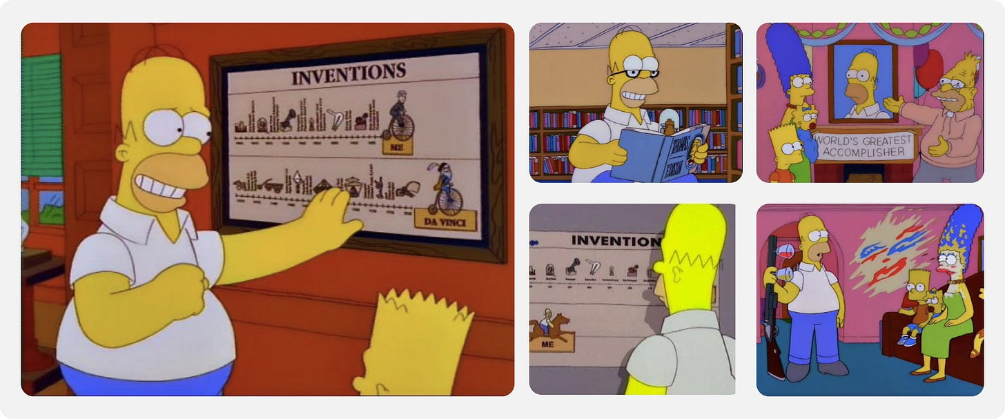 Images of Homer Simpson