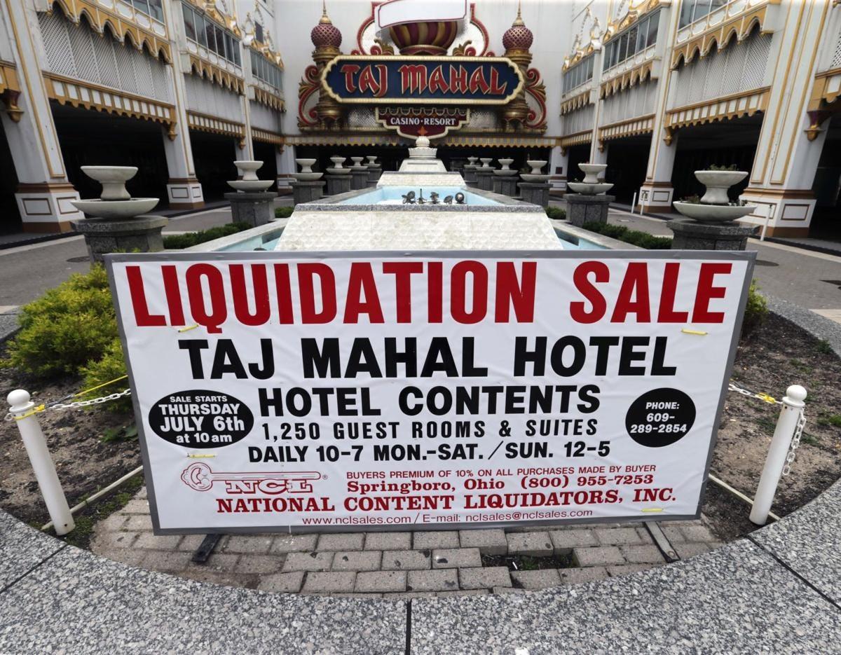 Poker tables hot seller at Trump Taj Mahal sale     pressofatlanticcity.com