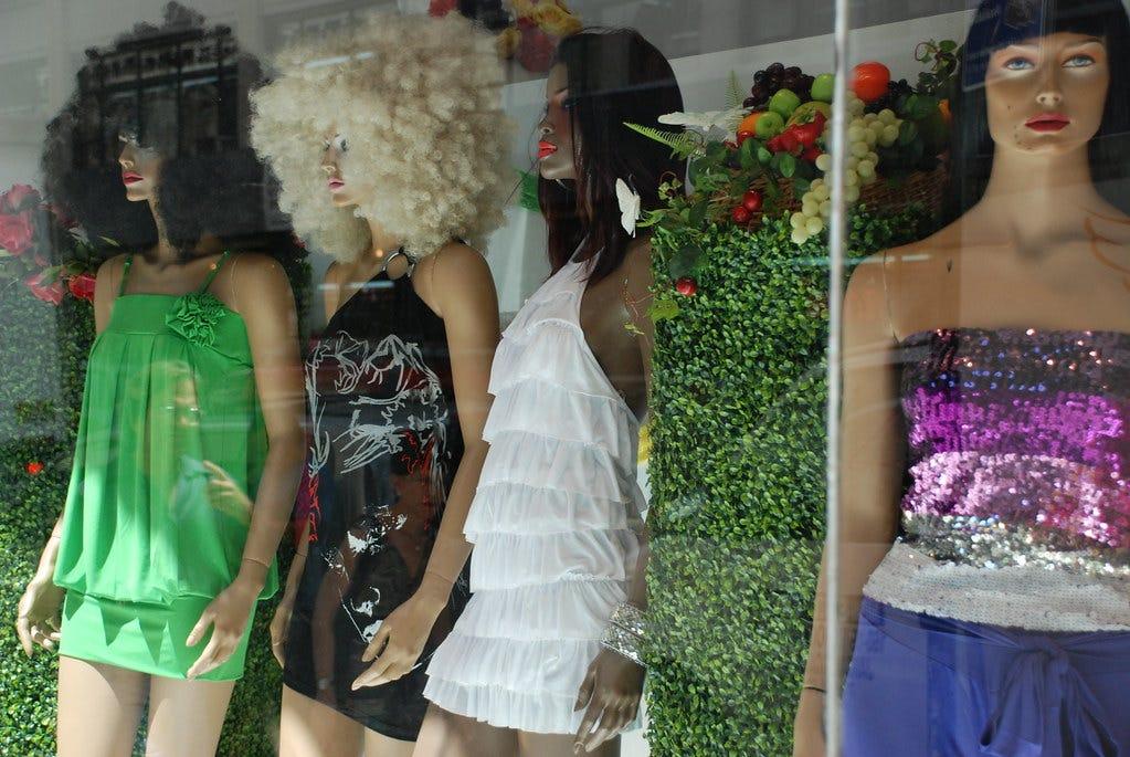 """Mannequins"" by Joe Shlabotnik is licensed under CC BY 2.0"