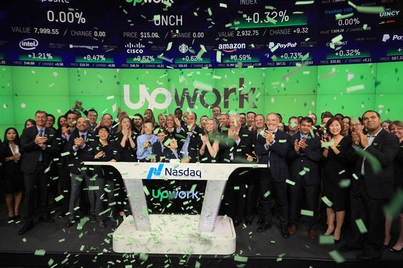 Upwork shares leap 40% as CEO calls IPO 'beginning of a new ...