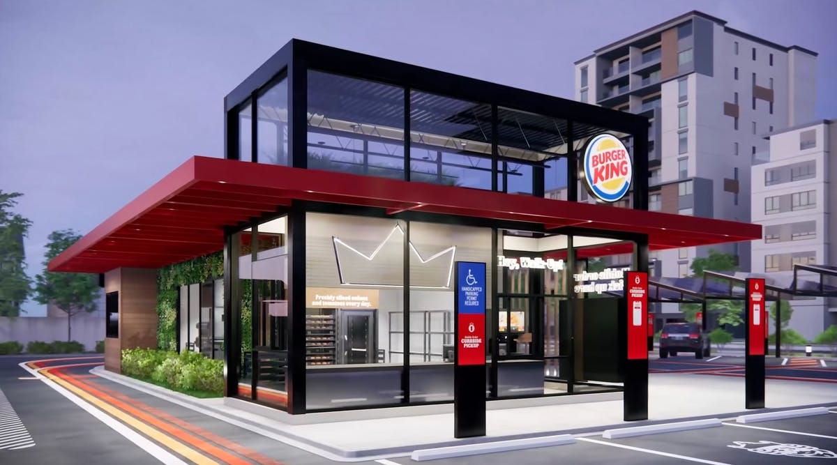 Burger King unveils new restaurant designs to address implications of  COVID-19 | News | Archinect