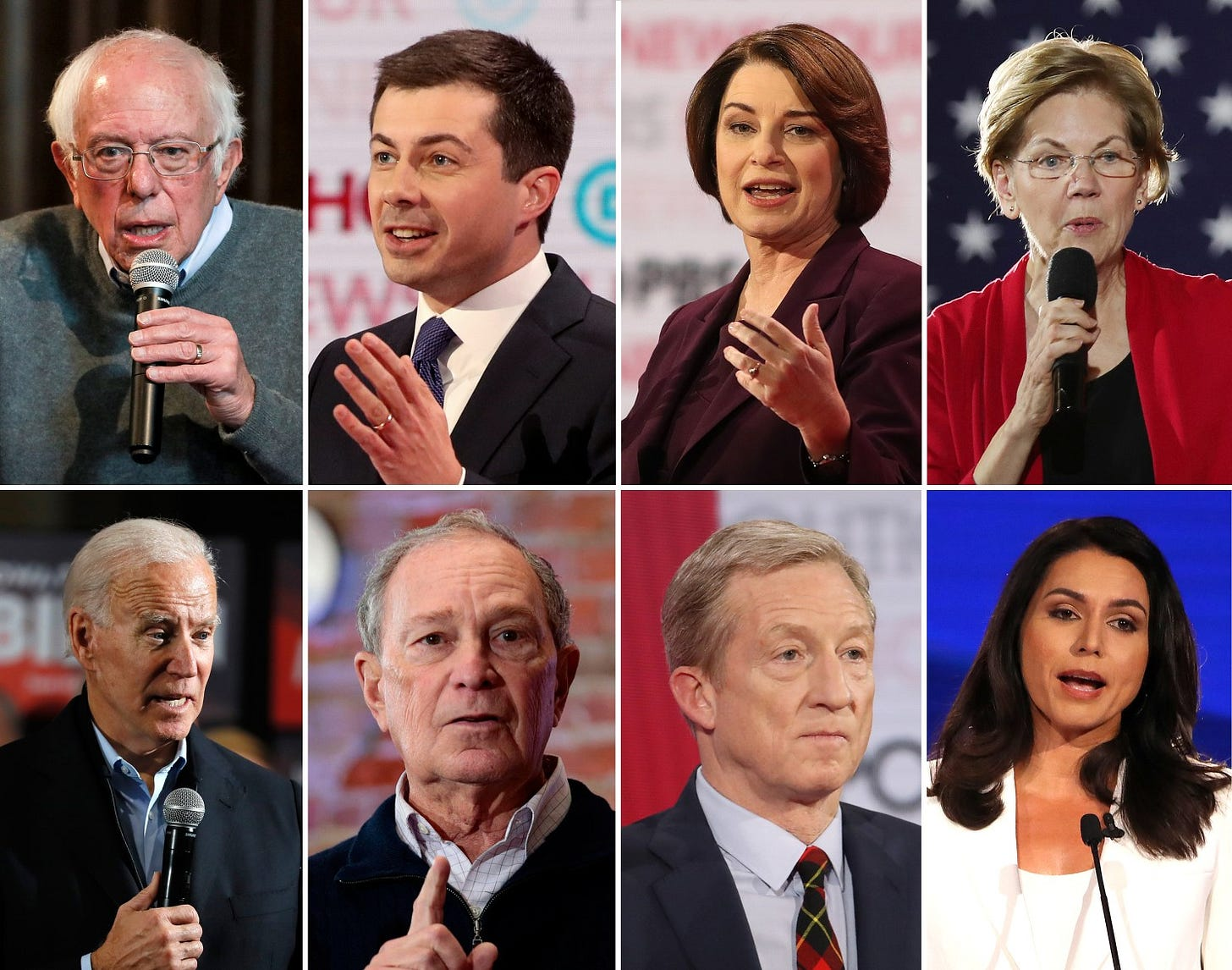 Image result for democratic candidates