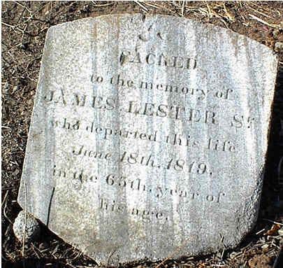 James Lester Grave