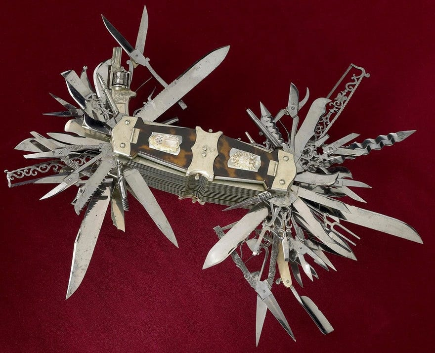A really scary-looking multitool