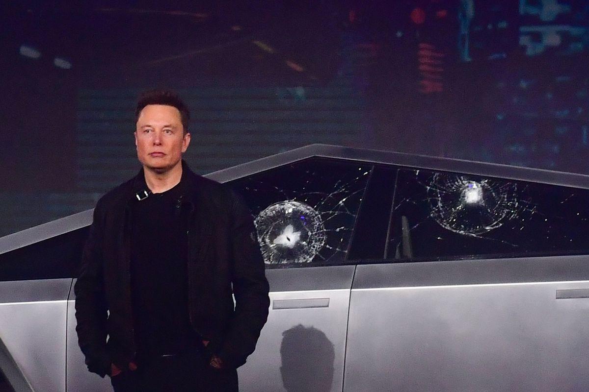 Elon Musk explains why Tesla's Cybertruck windows smashed during ...