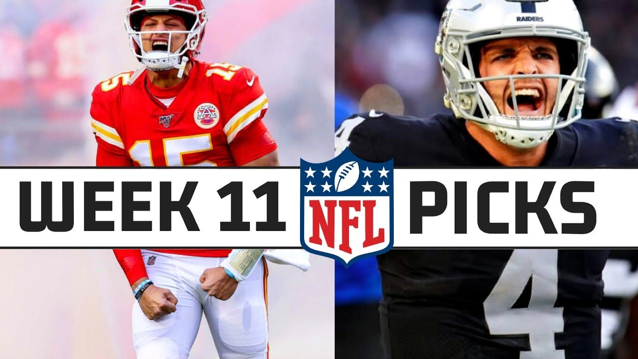 NFL Week 11 2020 Picks Straight up and Against The Spread – WorldSports  Movies