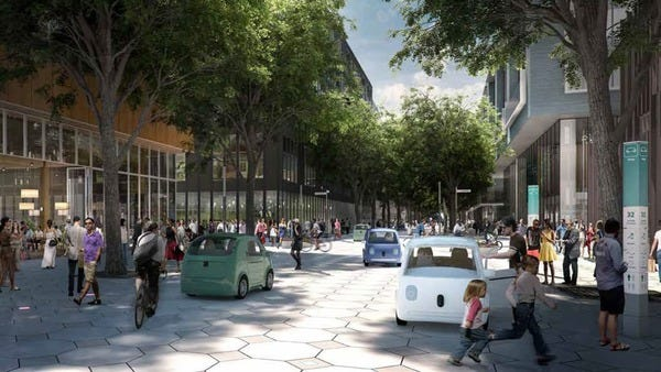 Sidewalk Labs: Toronto's Future Streets
