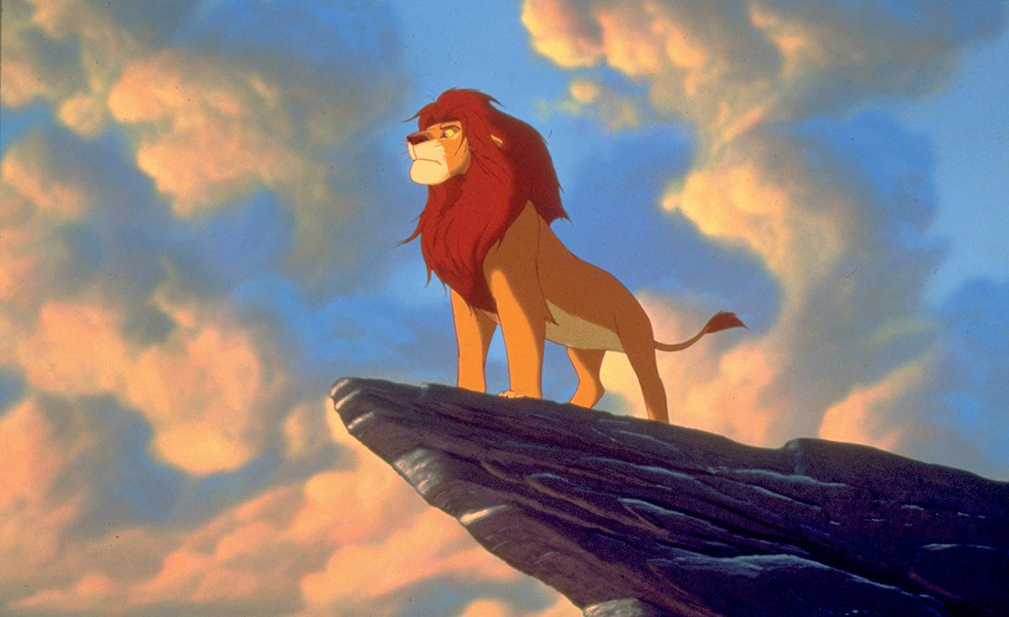 Image result for the lion king 1994