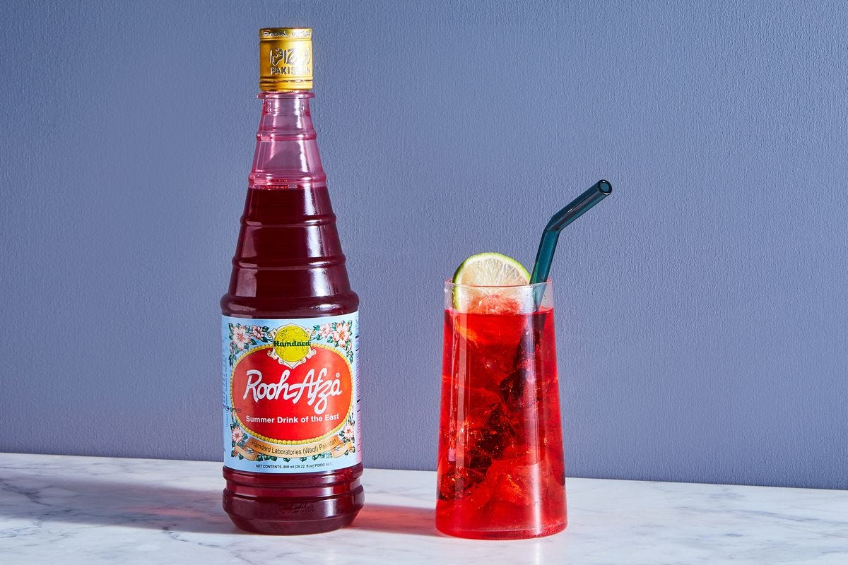 What Is Rooh Afza? - History of South Asian Rose Syrup