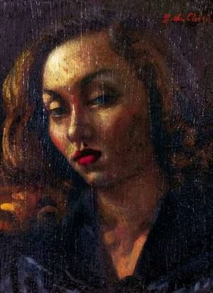 Retrato a óleo de Clarice Lispector pintado por Giorgio de Chirico, em  Roma, em 1945 - Cultura - Estadão
