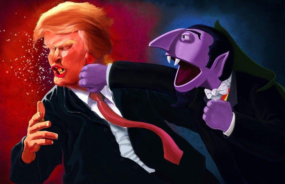 r/pics - POTUS vs. The Count