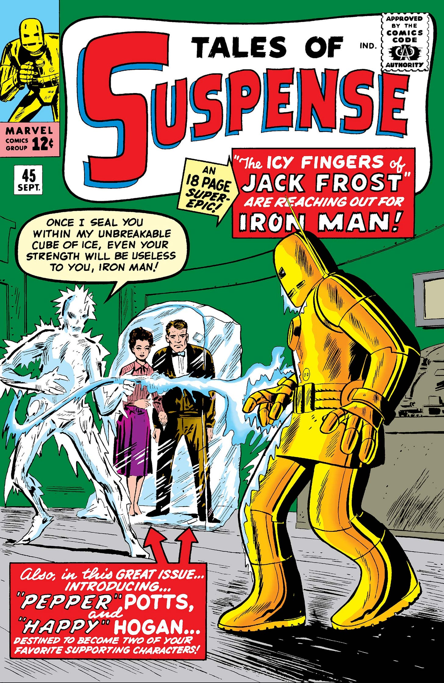Tales of Suspense (1959) #45 | Comic Issues | Marvel