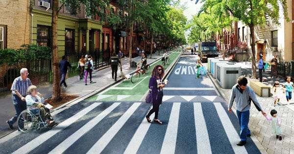 A future without cars.